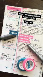 To-do, and Diary